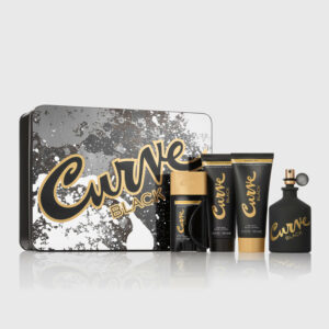 Curve Black Cologne for Men 4 piece gift set