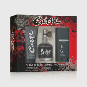 Curve Crush Cologne For Men 3 Piece Gift Set Angled