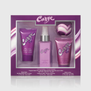 Curve Crush Fragrance For Women 4 Piece Gift Set Straight