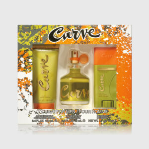 Curve for Men Cologne 3 Piece Gift Set