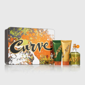 Curve For Men Cologne 4 piece Gift Set