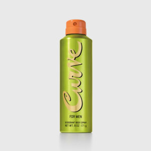 Curve For Men Cologne Deodorant Spray 6 Fl Oz